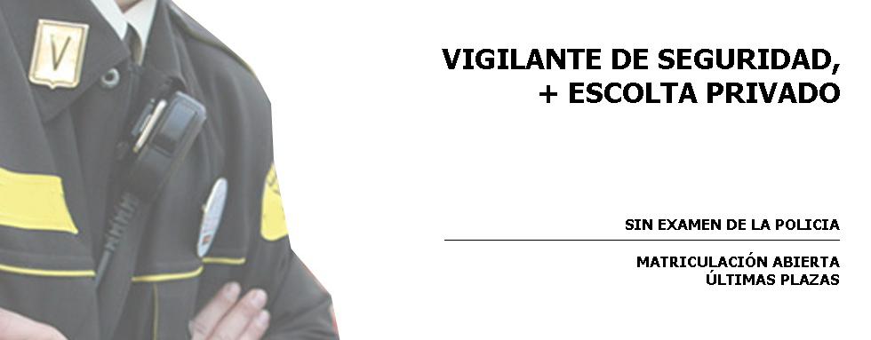 vigilante de seguridad escolta privado